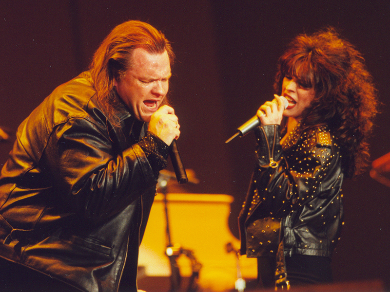 Patti Russo with Meat Loaf