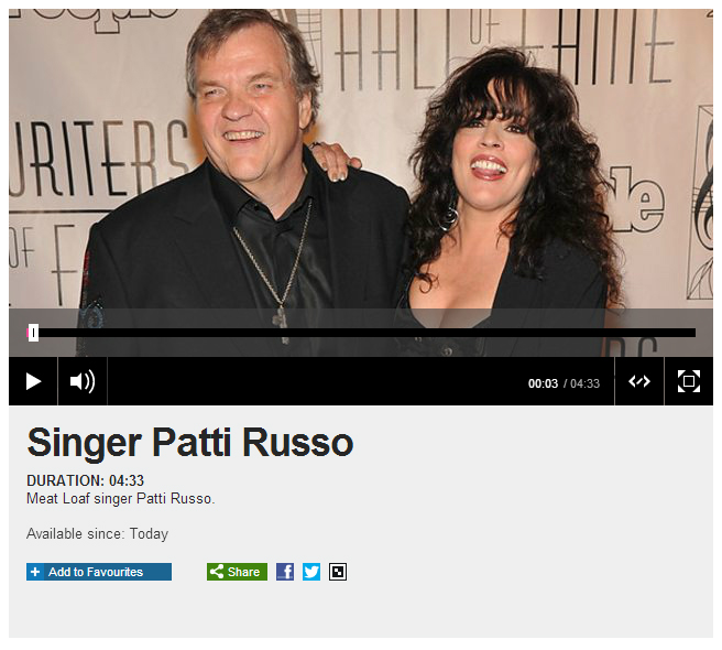 Patti Russo on BBC Radio Derby