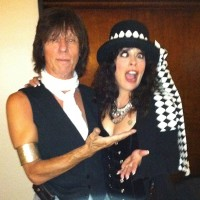 Patti Russo with Jeff Beck