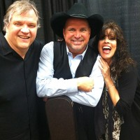 Patti Russo with Garth Brooks and Meat Loaf