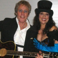 Patti Russo with Roger Daltrey