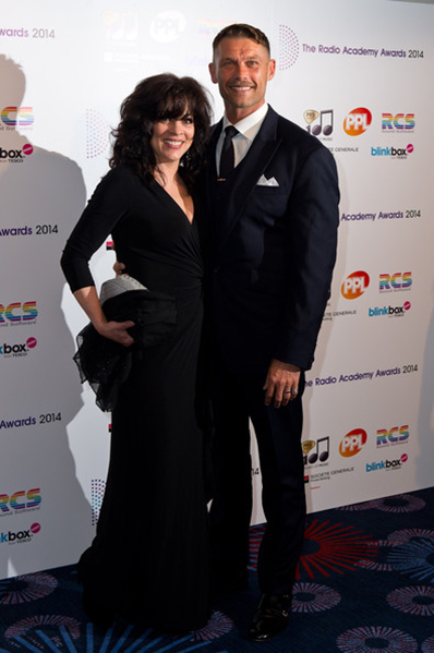 Patti Russo and John Partridge at the Radio Academy Awards 2014